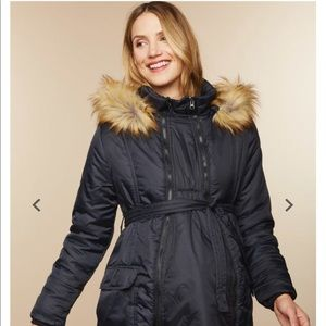 Jackets & Blazers - 3 in 1 maternity winter puffer coat!